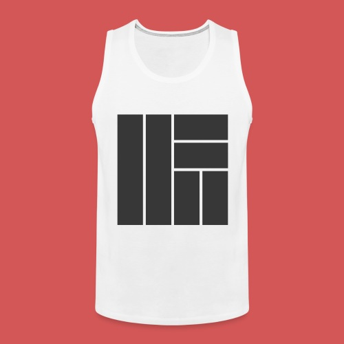 NÖRCup Black Iconic Edition - Men's Premium Tank Top