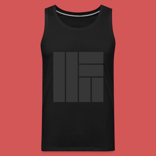NÖRCup Black Iconic Edition - Men's Premium Tank Top