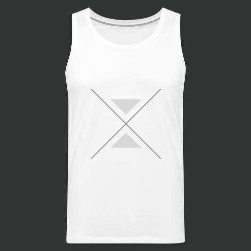 triangles-png - Men's Premium Tank Top