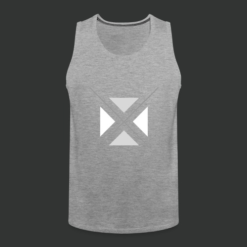 hipster triangles - Men's Premium Tank Top