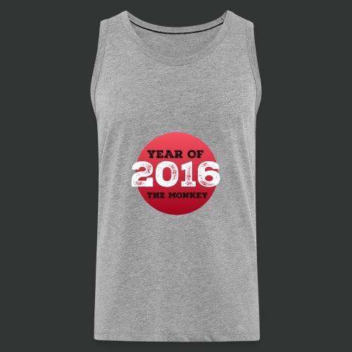 2016 year of the monkey - Men's Premium Tank Top