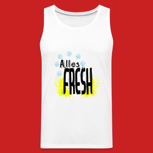 Alles Fresh / Frisch Sommer Eis - Männer Premium Tank Top