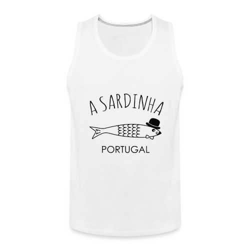 A Sardinha - Portugal - Débardeur Premium Homme