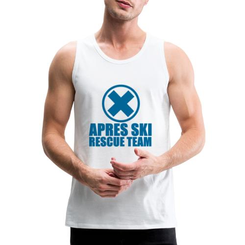 apres-ski rescue team - Mannen Premium tank top