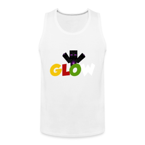 Minecraft - Glow - Männer Premium Tank Top