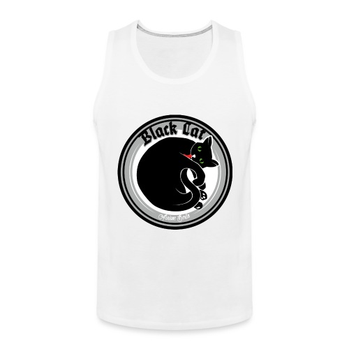 Black Cat - Männer Premium Tank Top