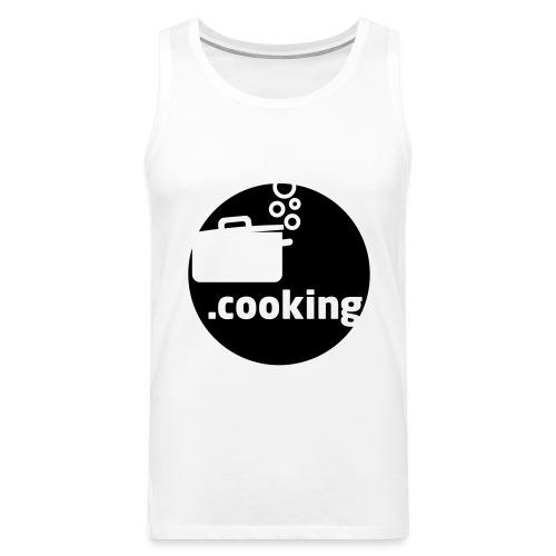 dot.cooking motiv kochtopf | gestalte selber dein - Männer Premium Tank Top