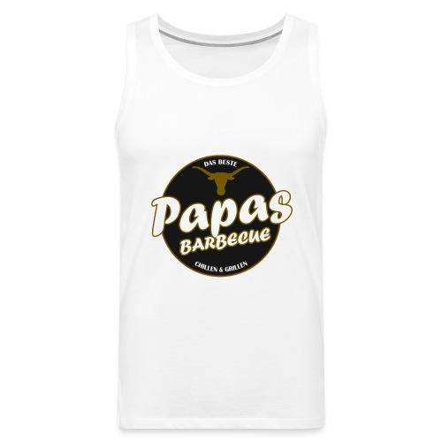 Papas Barbecue ist das Beste (Premium Shirt) - Männer Premium Tank Top
