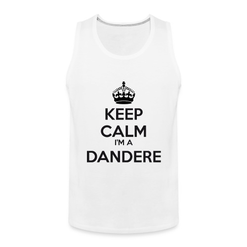 Dandere keep calm - Men's Premium Tank Top