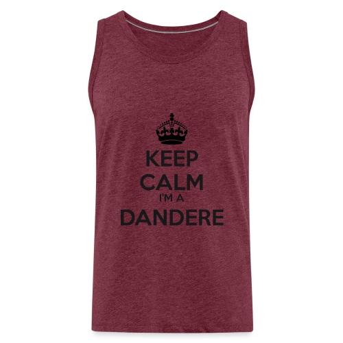 Dandere keep calm - Men's Premium Tank Top
