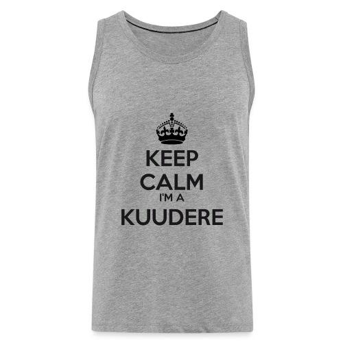 Kuudere keep calm - Men's Premium Tank Top