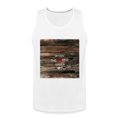 Jays cap - Men's Premium Tank Top