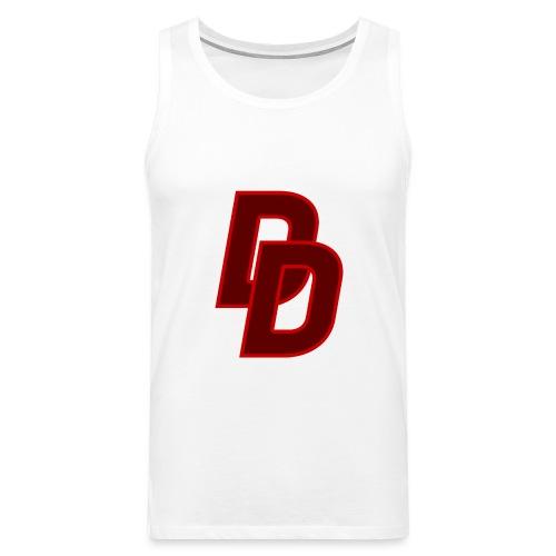 Daredevil Logo - Men's Premium Tank Top