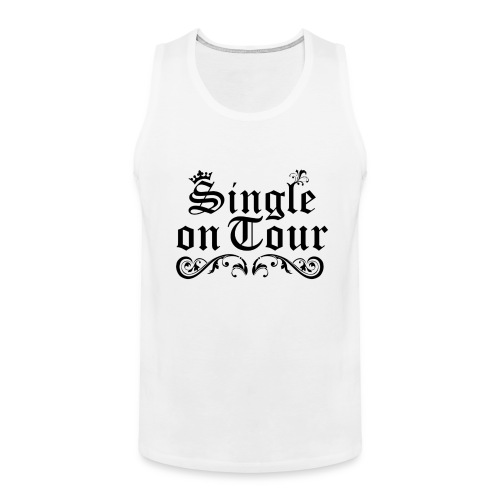 Single on Tour - Männer Premium Tank Top