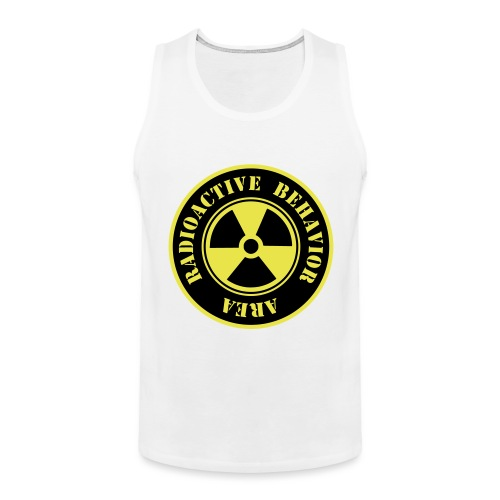 Radioactive Behavior - Tank top premium hombre