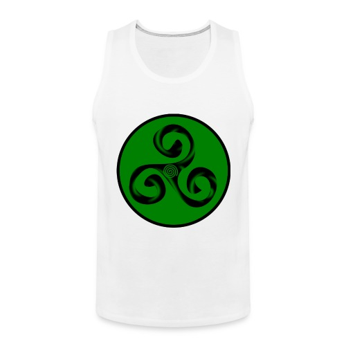 Triskel and Spiral - Tank top premium hombre