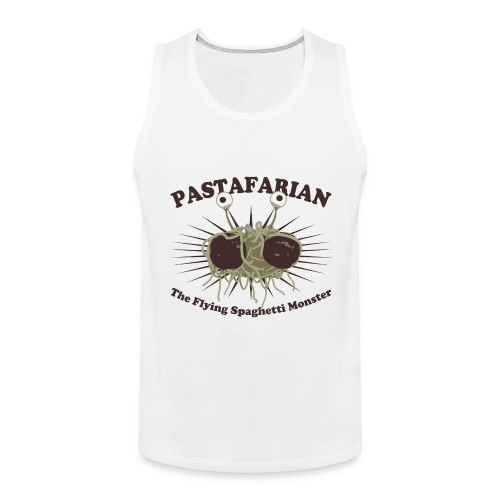 The Flying Spaghetti Monster - Men's Premium Tank Top