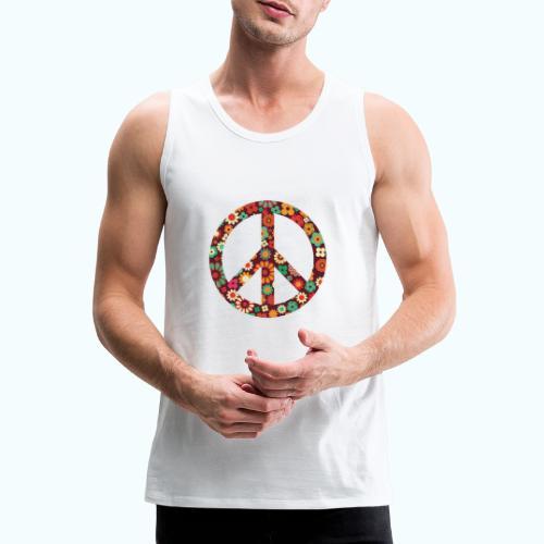 Flowers children - peace - Men's Premium Tank Top
