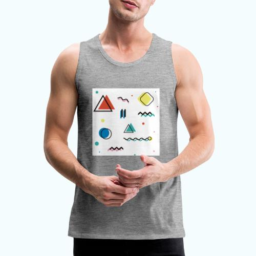 Abstract geometry - Men's Premium Tank Top