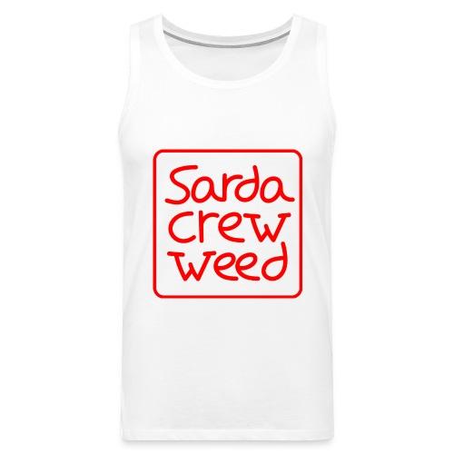 Logo Sarda Crew - Tank top premium hombre