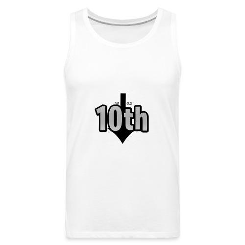 10th Normal Logo - Männer Premium Tank Top