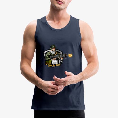OutKasts [OKT] Logo 2 - Men's Premium Tank Top
