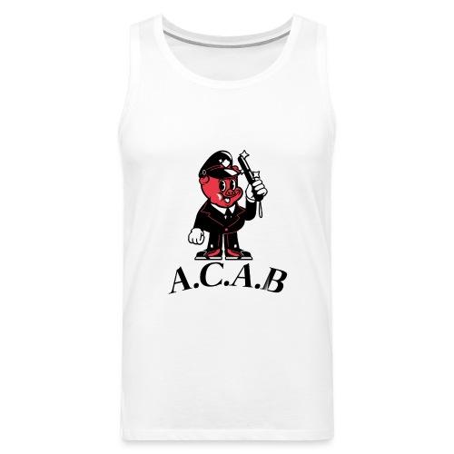 A.C.A.B cochon - Débardeur Premium Homme
