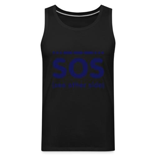 SOS - Mannen Premium tank top