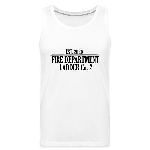 Fire Department - Ladder Co.2 - Herre Premium tanktop