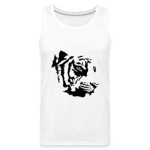 Tiger head - Débardeur Premium Homme
