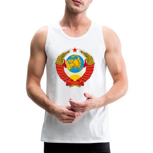 UdSSR Wappen / Герб СССР - Männer Premium Tank Top