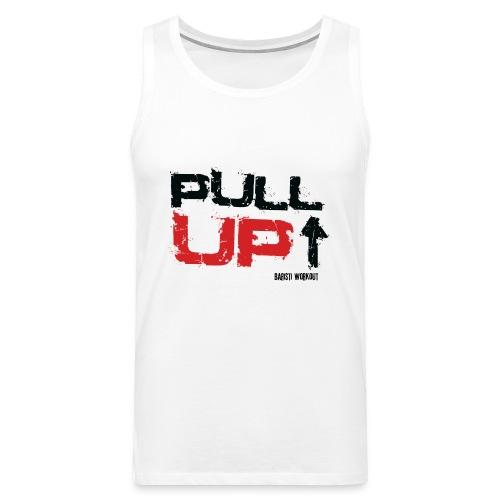 Pull Up bw png - Männer Premium Tank Top