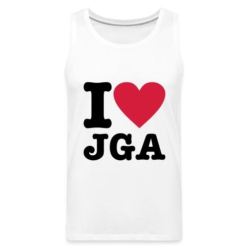 I love JGA - Männer Premium Tank Top