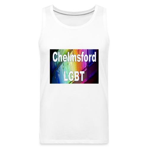 Chelmsford LGBT - Men's Premium Tank Top