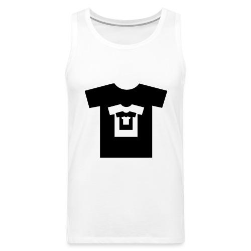 t-shirt récursif - Débardeur Premium Homme