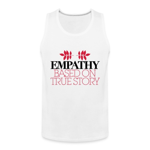empathy story - Tank top męski Premium