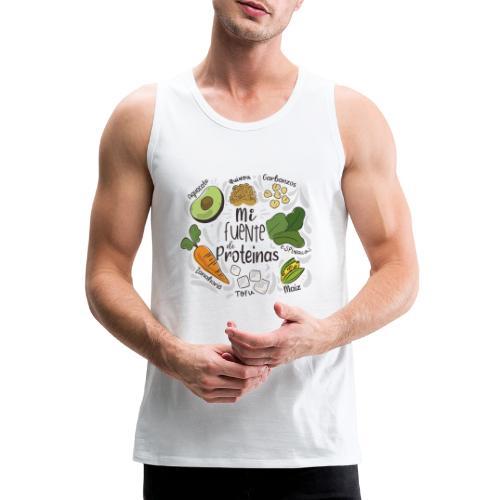 Mi fuente de proteinas - Tank top premium hombre
