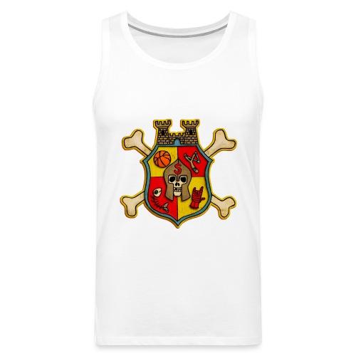 Teenager Premium T-Shirt - Wappen Burg Schreckenst - Männer Premium Tank Top