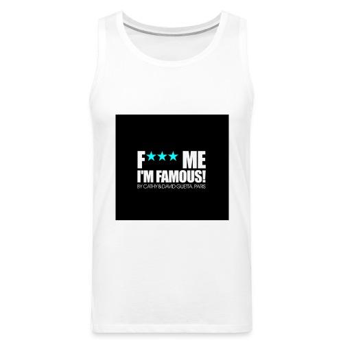 FMIF Badge - Débardeur Premium Homme
