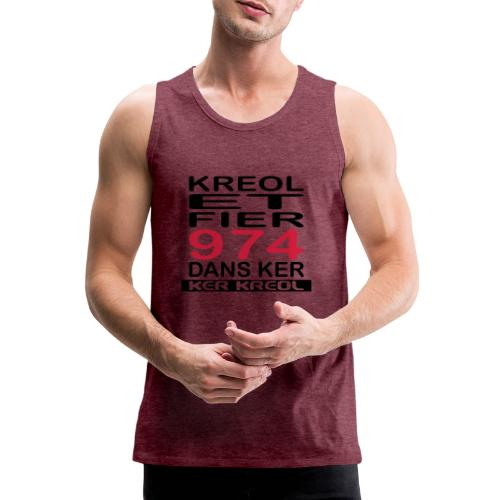 Kreol et Fier dans Ker - Débardeur Premium Homme
