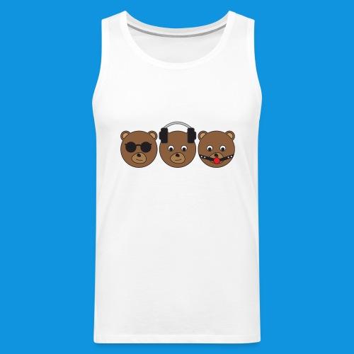 3 Wise Bears - Men's Premium Tank Top