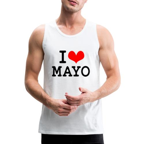 I Love Mayo - Men's Premium Tank Top