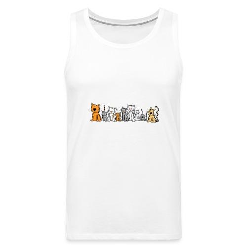 Cats & Cats - Mannen Premium tank top