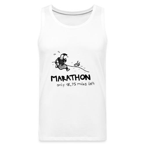 marathon-png - Tank top męski Premium