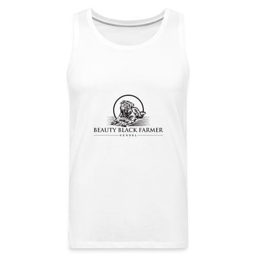 Beauty Black Farmer - Männer Premium Tank Top