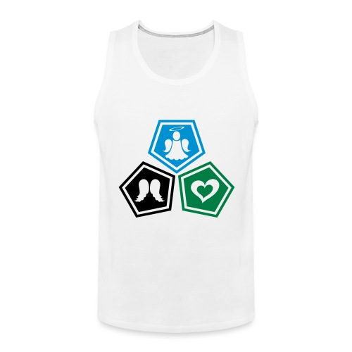 Tee shirt baseball Enfant Trio ange, ailes d'ange - Men's Premium Tank Top