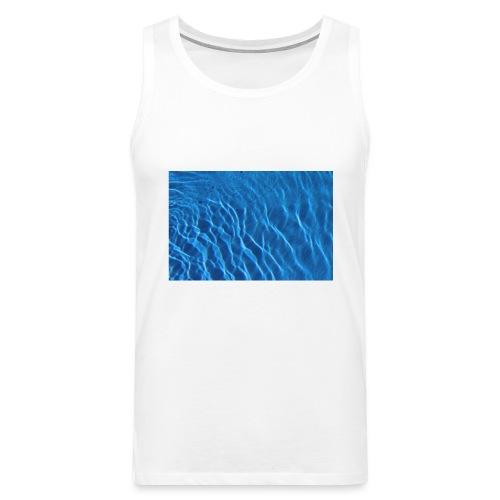 Water t shirt - Premium singlet for menn