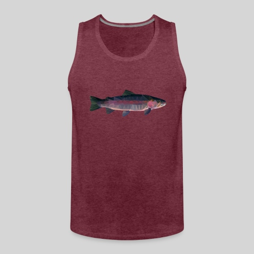 Trout - Miesten premium hihaton paita