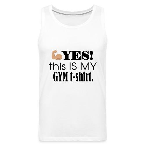 Gym tshirt - Herre Premium tanktop