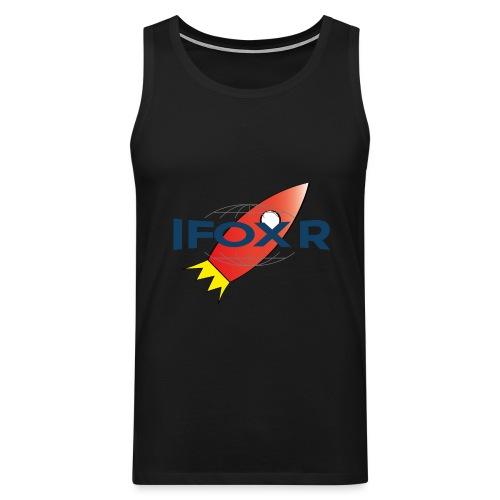 IFOX ROCKET - Premiumtanktopp herr